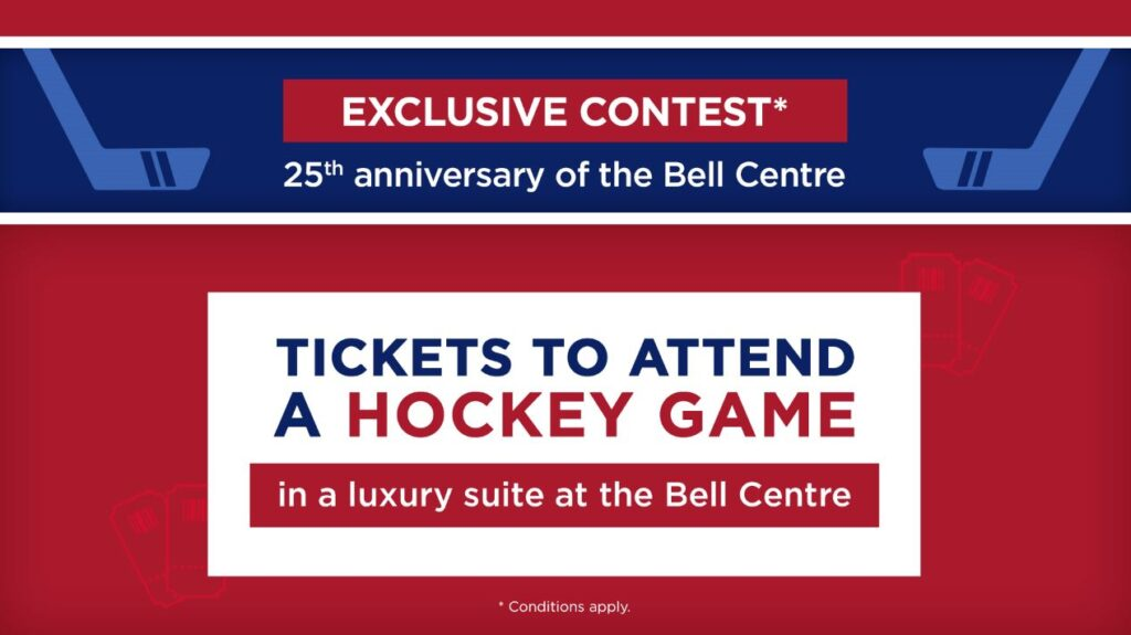 Rona and Montreal Canadiens Contest
