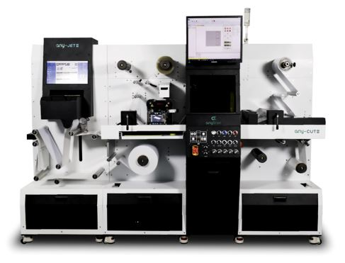 Anytron Digital Press for Label and Flexible Packaging